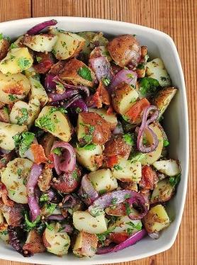 salata d cartofi